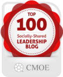 #37 on the CMOE Top 100 Most Socially Shared Leadership Blogs