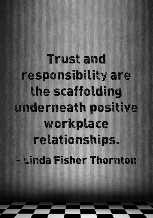 Trust-and-responsibility