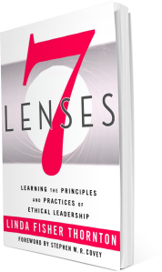 Book Cover - 7 Lenses by Linda Fisher Thornton